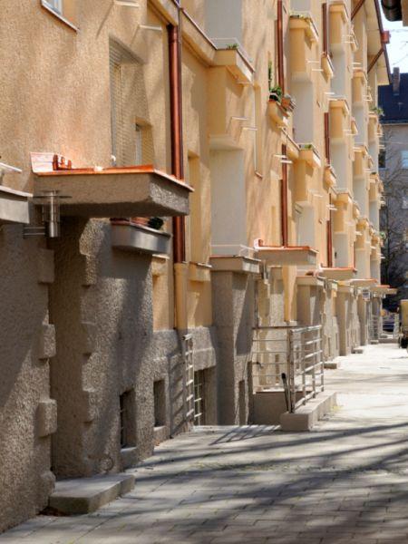 Apostelblöcke nach der Sanierung 2011 3. BauabschnittGEWOFGArchitekturbüro http://www.hechenbichler.info/